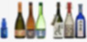 gamme de sakés kokuryu