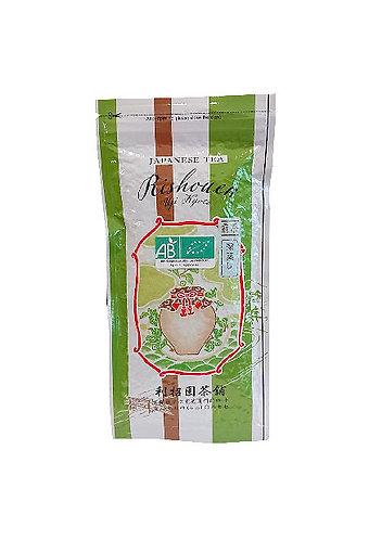 "Rishouen thé vert biologique ""Fukamushi Sencha""  [100g]"