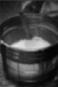 Lavage du riz à saké