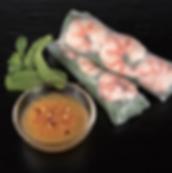 Rouleaux de printemps - Vinaigre pour sushi Marusho