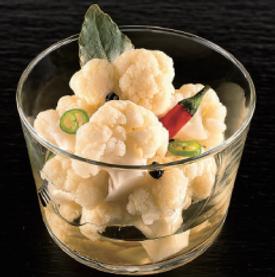 Pickles de choux-fleurs épicés - Vinaigre pour sushi Marusho