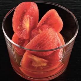 Tomates marnés au vinaigre doux - Vinaigre pour sushi Marusho