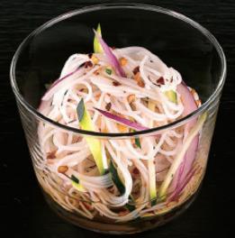 Salade de vermicelles - Vinaigre Tosazu