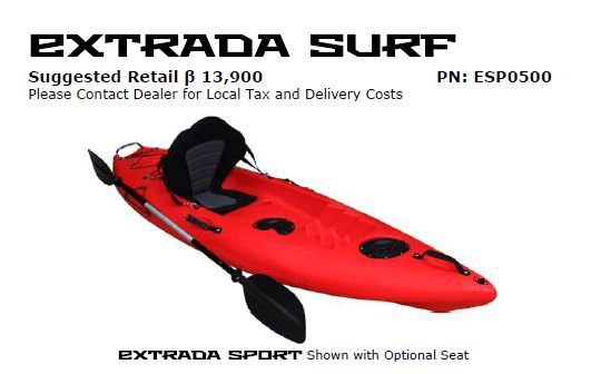 Extrada Surf nw