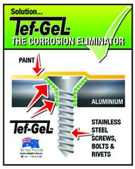 Tef-Gel Pro-sail marine