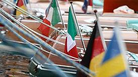 Osculati italian flag