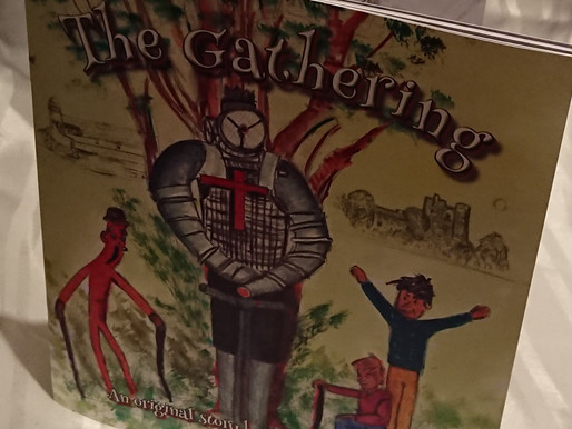 "Children's Book ""The Gathering"" by local Author & Artist Tommy Gallagher"