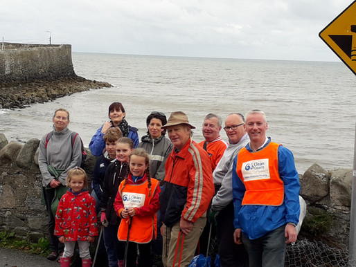 Balbriggan Tidy Towns Cleaning up 3 Beaches for The Clean Coasts Programme