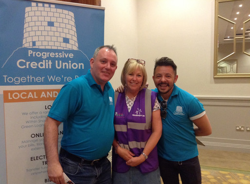 Progressive Credit Union has raised nearly €90,000 for Local Charity Remember Us.
