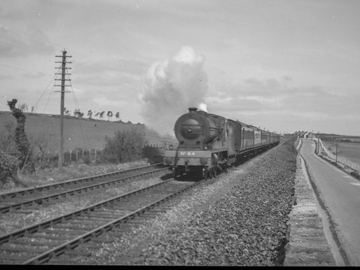 Balbriggan Railway Photos c1940's