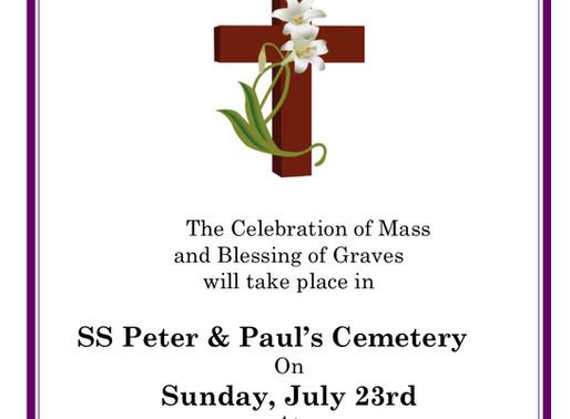 Balbriggan Parish Blessing of Graves-2017