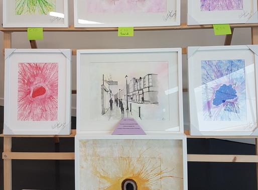 Bonanza Art Sale in Millfield shopping centre Friday 25th August.