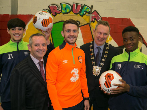 Fingal County Council and FAI launch ground-breaking TY Football Development Course