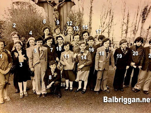 1979 Loreto Convent and Balrothery NS Confirmation photo