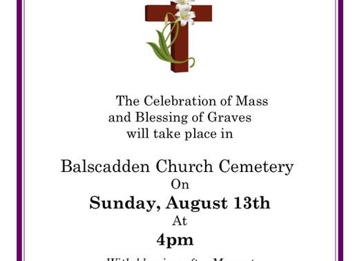 Blessing of Graves in Balscadden, August 13th 2017