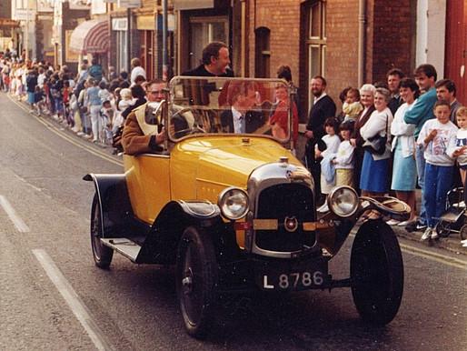 Vintage car at Breakaway Festival