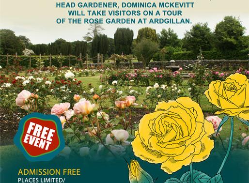 Annual Rose & Sweet pea Show in Ardgillan Castle