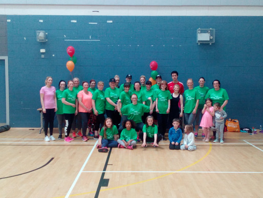 WAR Fitness Balbriggan Monthly Charity Class: the day after the day before!