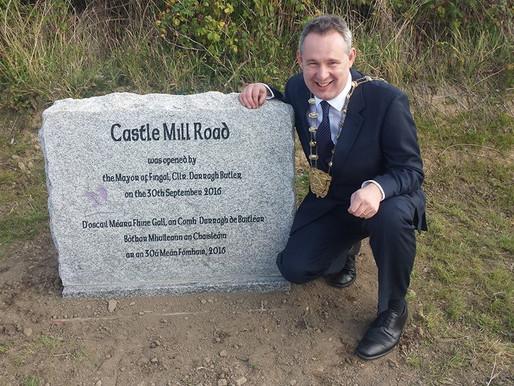 Mayor opens Castle Mill Road in Balbriggan