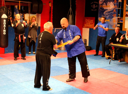 Blue Dragon Balbriggan's Kung Fu Grandpa.