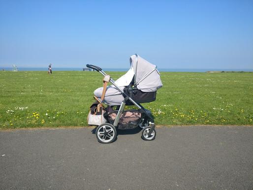 Joanna Melia and her wandering pram blog