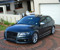 RK motion Audi S3 remapped