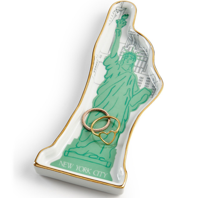 "Statue of Liberty - Shaped Tray 6"""