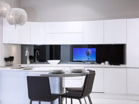 3 formas de esconder una tv para Cocinas