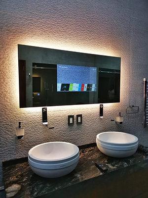 Espejo TV con luz led - 130x60