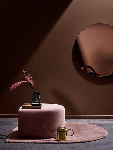 Espejo rosa bronce