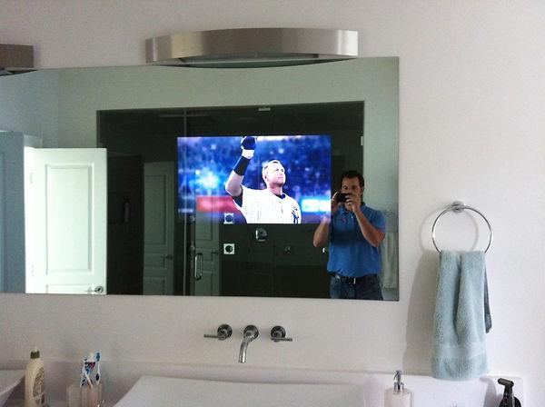 espejos con pantalla