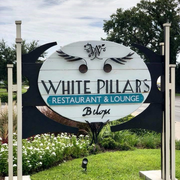 White Pillars Restaurant Biloxi, Mississippi 2018 Mississippi Heritage Trust Award for Restoration 2016 Mississippi & National Registers of Historic Places