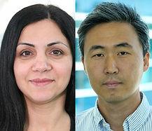 Headshots of Drs. Shadi Shahedipour-Sandvik and Sung