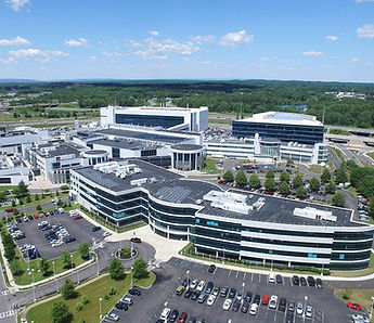 aerial of the SUNY Poly Albany campus