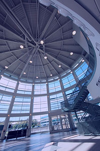 circular room in a SUNY Poly Albany campus building