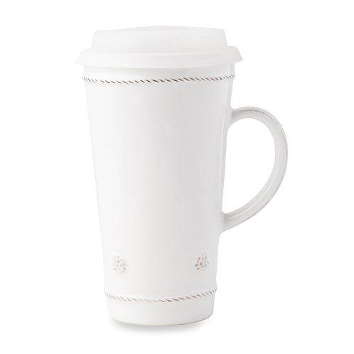 Juliska Berry & Thread Whitewash Travel Mug