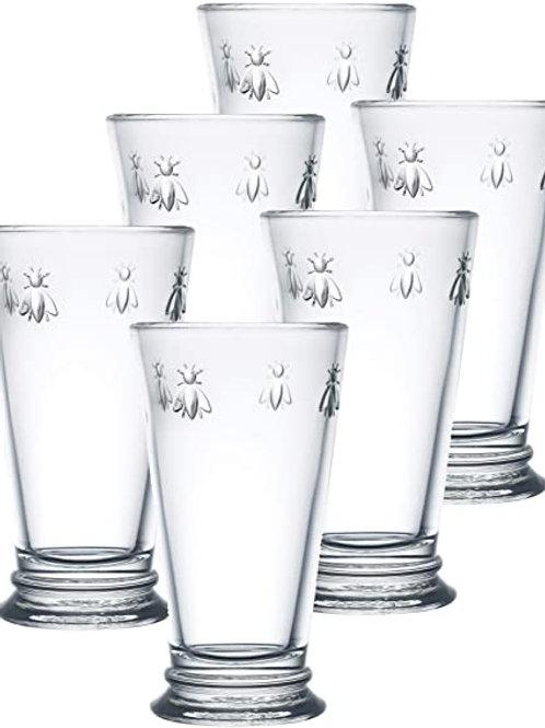 La Rochère Bee Highball Drinking Glasses, Set of 6