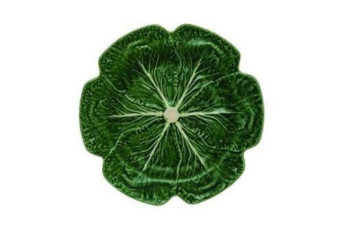 Bordallo Pinheiro Cabbage Green Charger - Set of 2