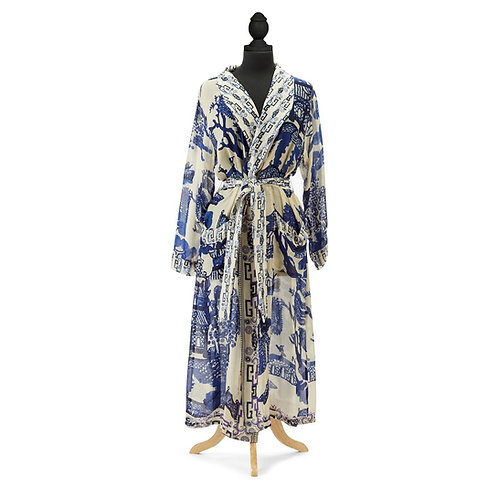 Blue Willow Robe Gown