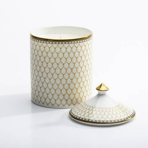Halcyon Days Antler Trellis Lidded Candle