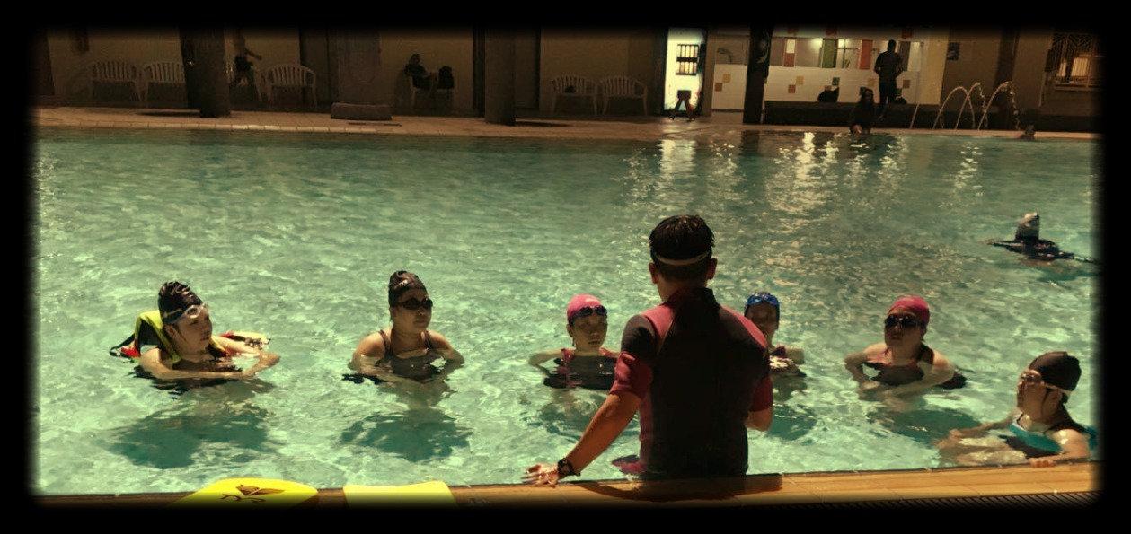 Adult Group 8 Swim Classes at Senja CC