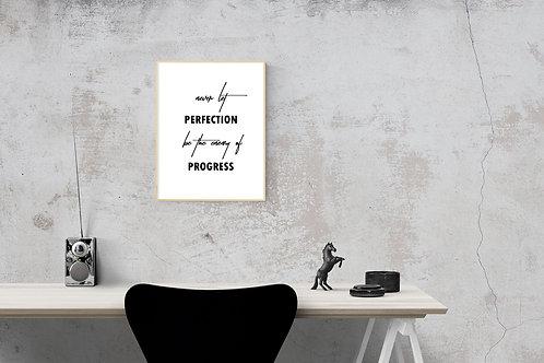 Enemy of Progress Print