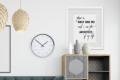 Architect of My Life Print