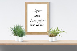 Prints - Learn Who We Are