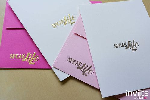 Speak Life Notes