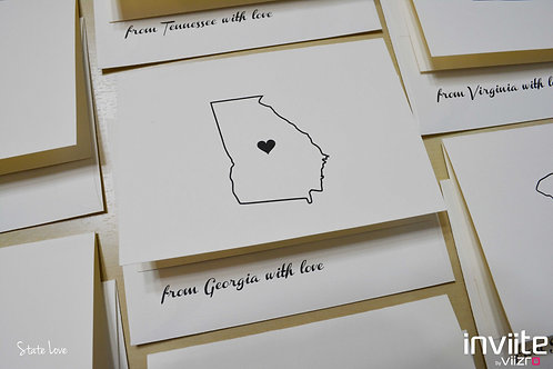 State Love Notes