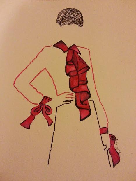 Desenho de moda por Soluart