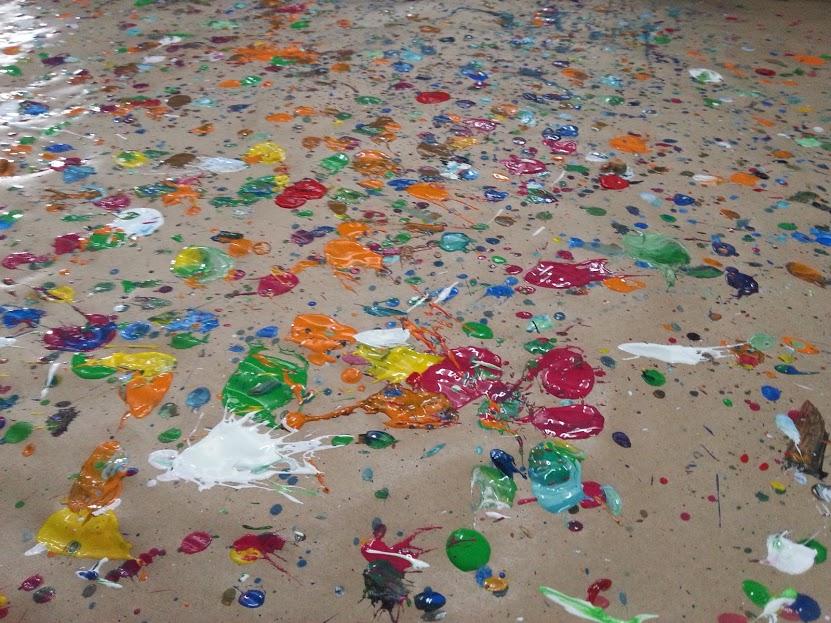 Aula de artes / Pollock