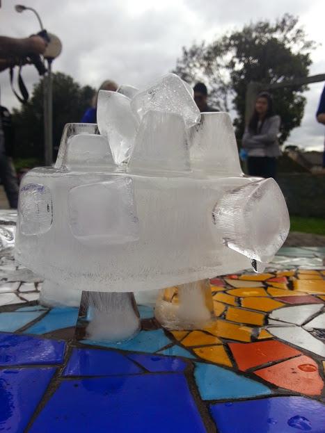 Arte efêmera - Escultura de gelo