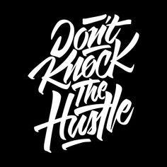 don't knock the hustle logo